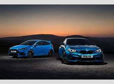Ford Focus RS vs BMW M2 twin test Autocar