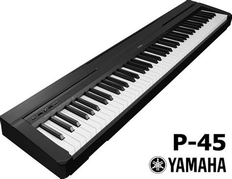 Yamaha P45 digital piano Arrives in South Africa