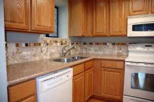 kitchen backsplash ideas with oak cabinets rooms