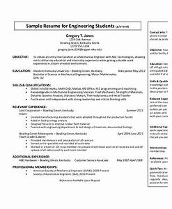 Resume Sample For Freshers Mechanical Engineers Job Resume For Mechanical Engineers