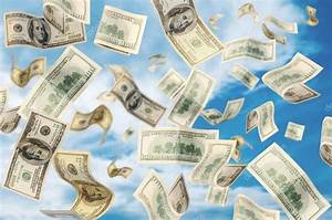 Money Falling down from sky — Stock Photo © creative_eyes ...