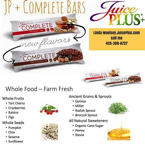 Complete Bar by All New Juice Plus Complete Bars Now Available For Order
