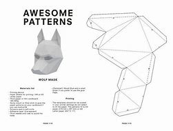 High quality images for 3d wolf mask template hdwallmobile0.ga