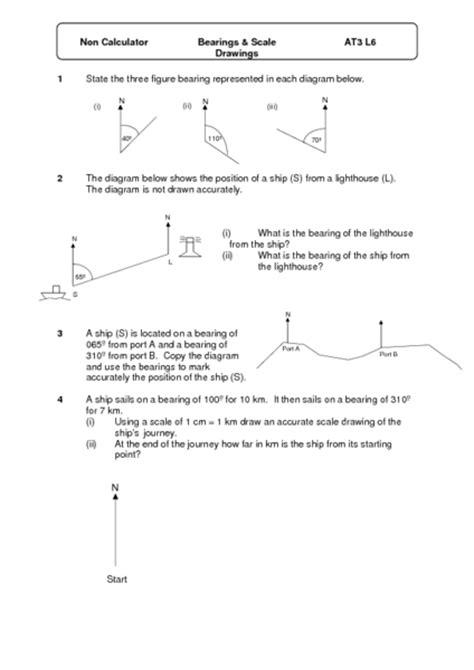 printables scale drawing worksheets messygracebook