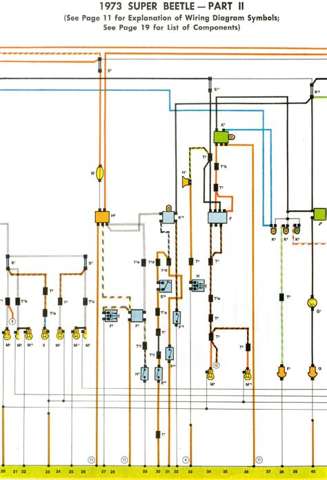 Super Beetle Wiring Diagram Thegoldenbug