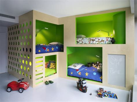 Dazzling Futon Bunk Bed In Kids Contemporary With Boys