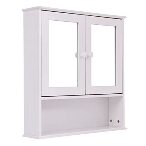 where can i buy a medicine cabinet tangkula bathroom cabinet double mirror door wall mount