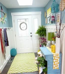 Farbgestaltung Flur Diele : 62 ideen f r farbgestaltung im flur und eingangsbereich ~ Orissabook.com Haus und Dekorationen