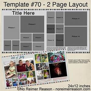 free 2 page digital scrapbook template 16 photos no With free scrapbooking templates to download