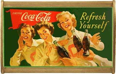 Earlycoke.com: The wood poster frame for Coca-Cola ...