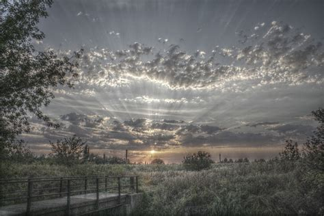 photo hdr clouds landscape sky  image