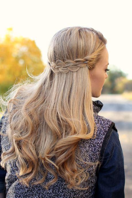halboffene frisuren mit locken halboffene frisuren f 252 r lange haare yskgjt
