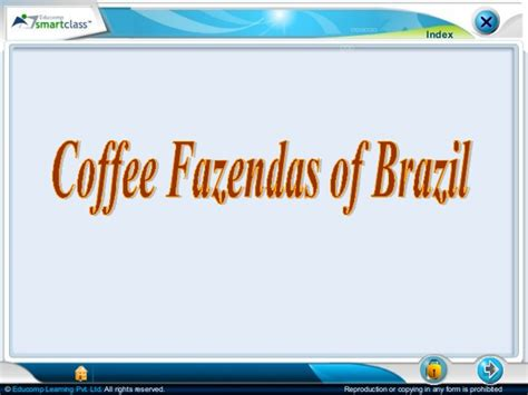 Coffee Fazendas of Brazil
