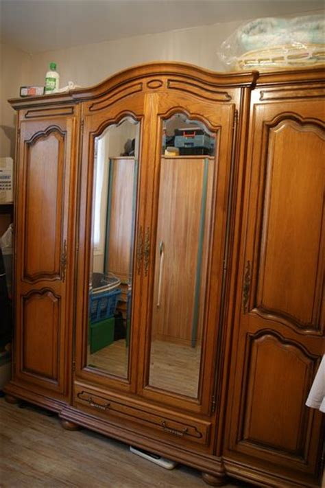 chambre a coucher occasion armoire placage traite ebenisterie clasf