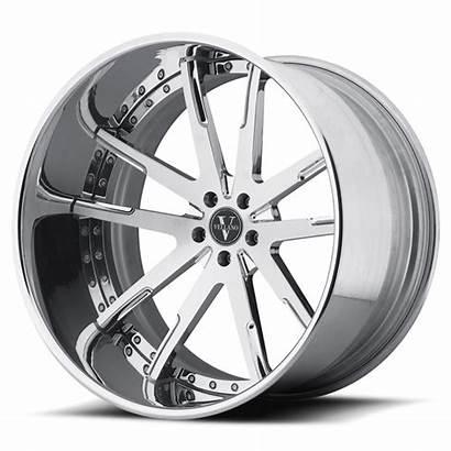 Concave Deep Wheels Lip Chrome Lug Vku