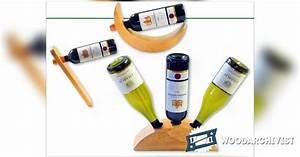 Wine Bottle Holder Plans • WoodArchivist