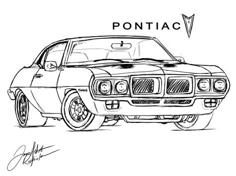 Smokey And The Bandit Trans Am Coloring Pages Coloring Pages