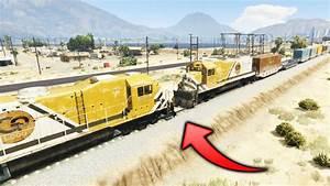 Gta 5 Tren Vs Tren Que Pasa Si Un Tren Choca Con Otro Tren Gta V Experimentos