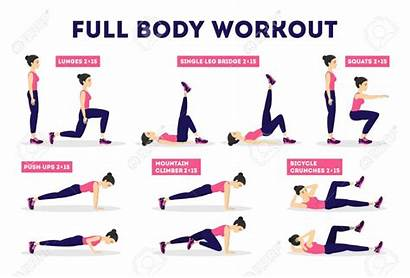 Workout Exercise Weight Goals Fitness Woman Loss