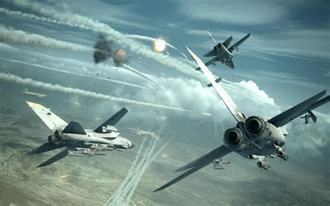 Ace Combat Game Jet Airplane Aircraft Fighter Plane