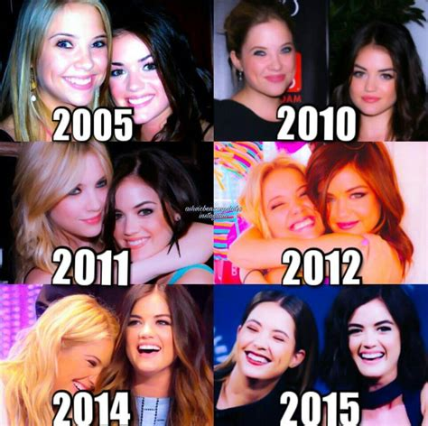 Ashley Benson and Lucy Hale throughout the years   Pretty ...