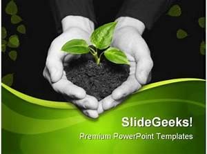 Save Plant Nature Powerpoint Templates And Powerpoint