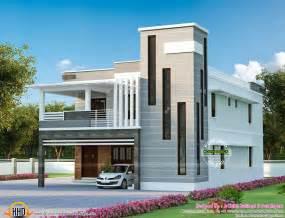 modern house plan contemporary mix modern house kerala home design and