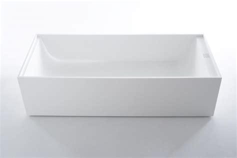Corian Bianco Vasca Da Bagno In Corian 174 Bianco Idfdesign