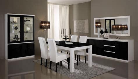 table de salle 224 manger design laqu 233 e blanche et