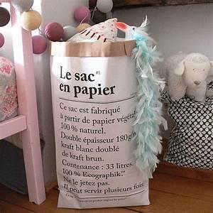 Sac En Papier Deco : ideas para decorar con le sac en papier ~ Teatrodelosmanantiales.com Idées de Décoration