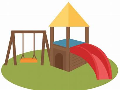 Playground Clipart Park Swings Outside Transparent Clip
