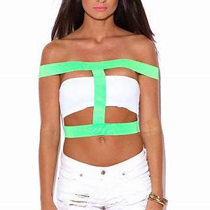 Best White Caged Crop Top Products on Wanelo