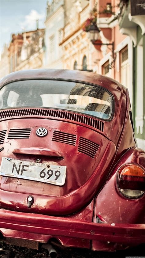 vintage volkswagen beetle iphone   hd wallpaper hd