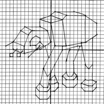coordinate plane graphing star wars dot  dots