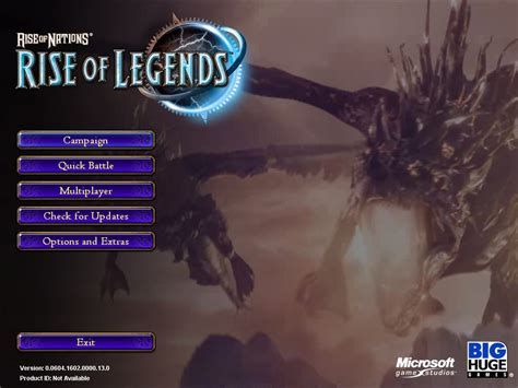 rise of nations rise of legends screenshots for windows