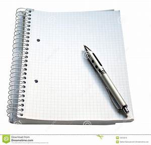 Notebook And Pen Royalty Free Stock Photo - Image: 12215015