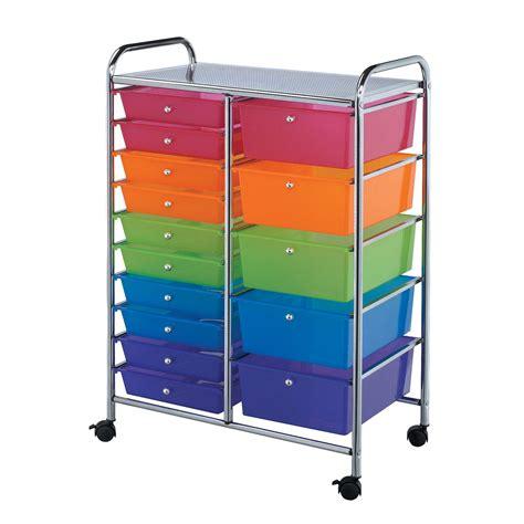 Craft Storage Drawers by Craft Storage Cart Crafting