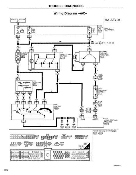 Window Wiring Harnes Diagram For 2003 Nissan Altima by Repair Guides Heating Ventilation Air Conditioning