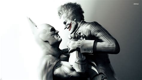 Batman Vs Joker  Batman  Arkham Asylum Wallpaper Game