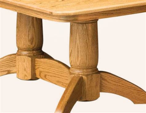 amish kitchen cabinets tuscan rectangular pedestal dining table amish 1243