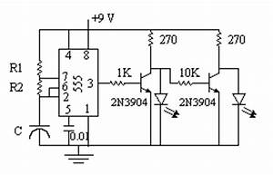 5 led chaser circuit wiring a led circuit wiring diagram With 555 timer led flasher circuit besides 555 timer relay circuit also 555