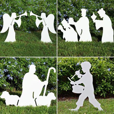 wooden nativity scene outdoor design ideas