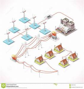 Energy 16 Infographic Isometric Stock Vector