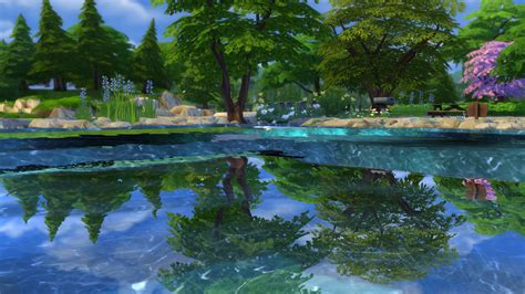 mod  sims mermaid lake diving spot