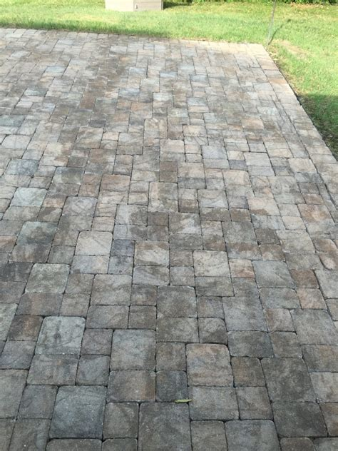 bad paver sealer jobs paver cleaning sealing dayton