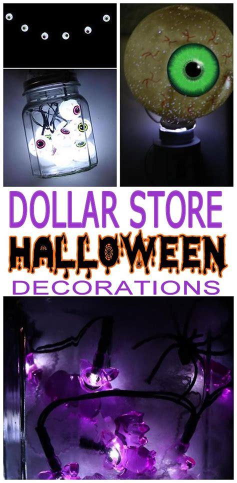 diy dollar store halloween decorations cheap easy