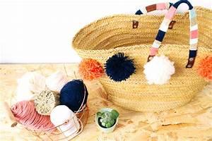 Panier Osier Plante : diy customiser son panier en osier video mademoiselle claudine le blog ~ Teatrodelosmanantiales.com Idées de Décoration