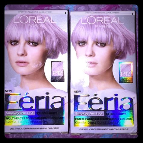 feria hair color purple 50 loreal other l or 233 al f 233 ria dusty lavender hair