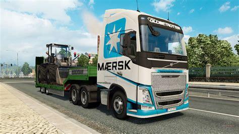truck simulator 2 original painted truck traffic pack v2 2 1 para truck simulator 2