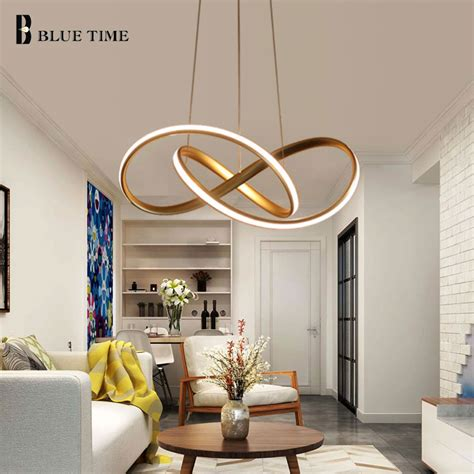 Led Lights For Room Aliexpress by Gold Black White Simple Led Pendant Lights For Dining Room